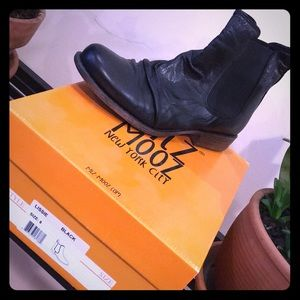 Never worn Moto boots